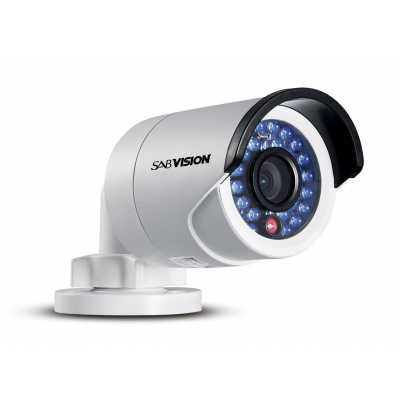 SABVISION 2100 4MP 2.5K QHD Mini Bullet IP Camera (P201)