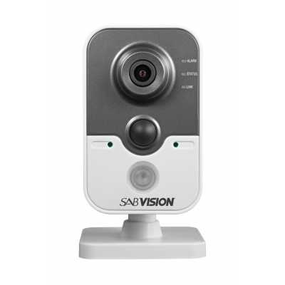 SABVISION 2400 4MP 2.5K QHD Cube IP Camera (P214)